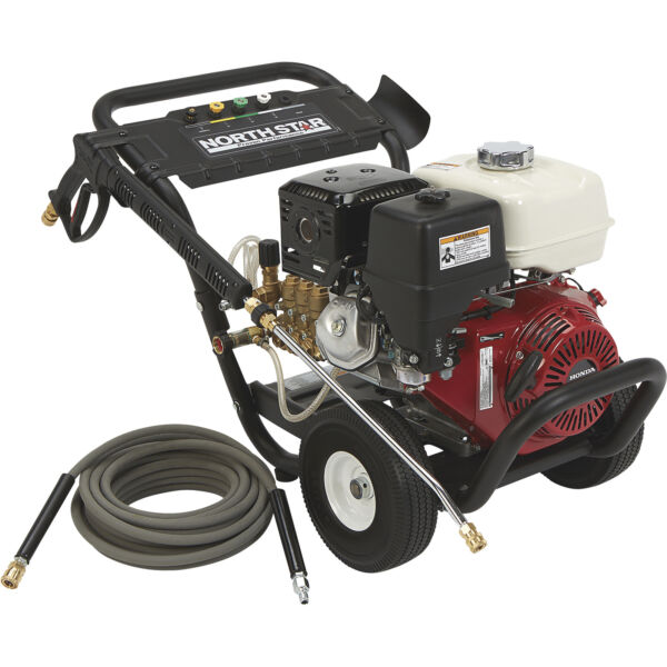 NorthStar Gas Cold Water Pressure Washer 3000 PSI 5.0 GPM Honda Engine $1599.99