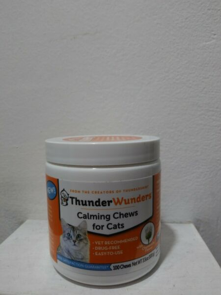 ThunderWunders Cat Calming Chews Vet Recommended to Help Reduce Situational $13.99