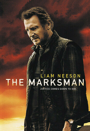 THE MARKSMAN DVD 2021 ACTION