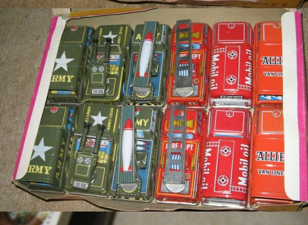 TRUCK friction metal ONE tin vehicle 1960s Japan ARMY Personnel Carrier 4quot; $10.50