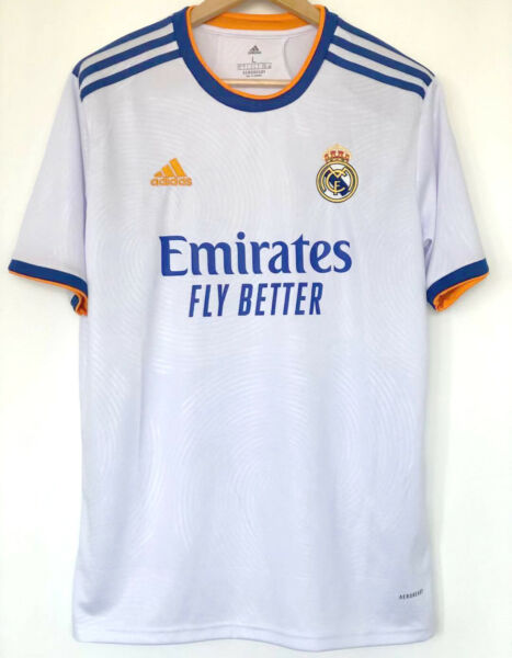 2021 22 Real Madrid FC Home Shirt Football Jersey For Adult S M L XL XXL