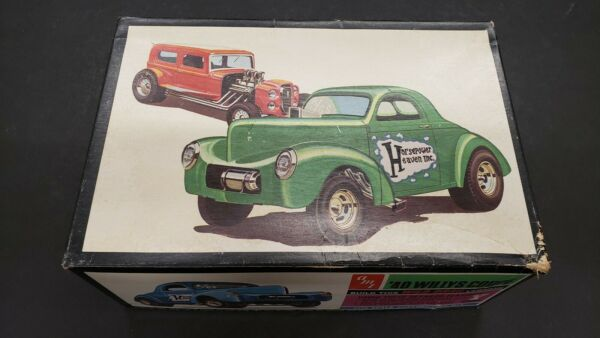 AMT SHOW N GO 32 FORD 40 WILLYS BOX PARTS S35