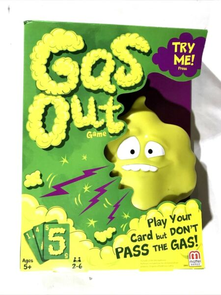 new Mattel Games Gas Out Game DHW40 $14.95