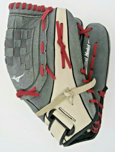 Mizuno Ballpark 13quot; Softball Glove Right Hand Throw Used with Free Shipping