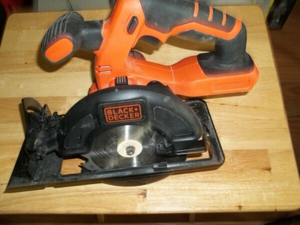 used black and decker 20 volt saw