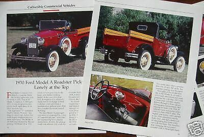 c 30 1930 Ford Roadster Pickup Truck Info