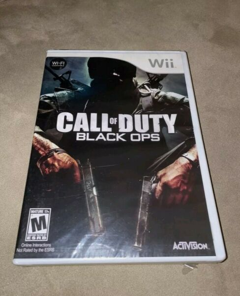 Call of Duty: Black Ops Nintendo Wii 2010 Factory Sealed Brand New Game $24.00