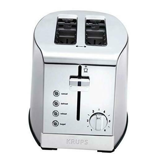 KH732D50 2 Slice Toaster Stainless Steel Toaster 5 Functions with Cancel