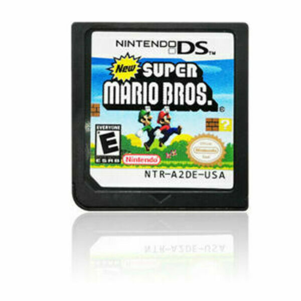 New Super Mario Bros Game Card for Nintendo 3DS 2DS DSI DS XL Lite Xmas Gifts US