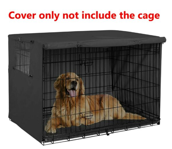 48quot; Extra Large Giant Breed Dog Crate Kennel XL Pet Wire Cage Huge Folding Cover $42.00