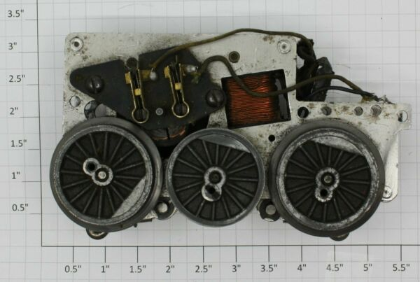Lionel 2025 100 6 Wheel Steam Locomotive Non Magne Traction Motor Assembly $17.99