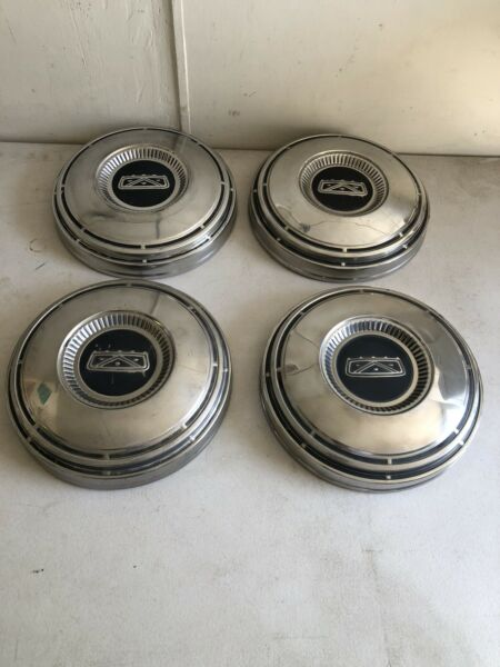 1967 1972 Ford F100 1 2 Ton Truck Factory Stainless Dog Dish Hubcaps Van 68 74? $150.00