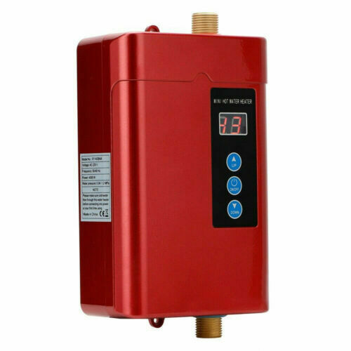 Instant Electric Hot Water Heater Tankless Boiler Shower Under Sink Tap Remote $77.00