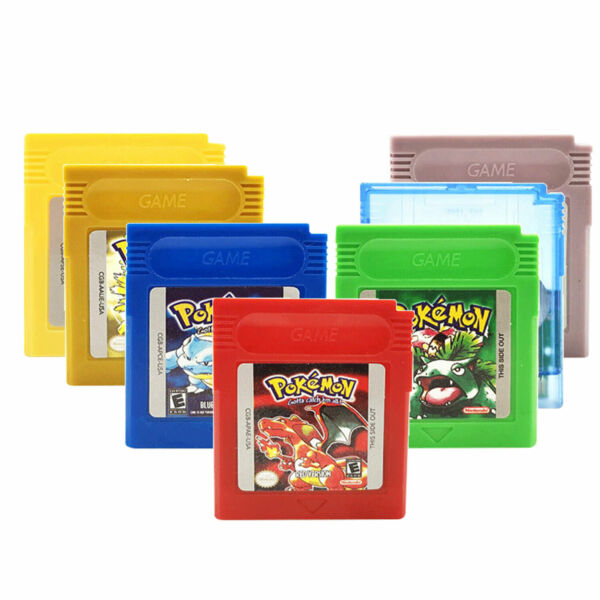 GBA GAMEBOY POKEMON CRYSTAL RED YELLOW BLUE SILVER GREEN GOLD GB GBC GAME CARD $68.99