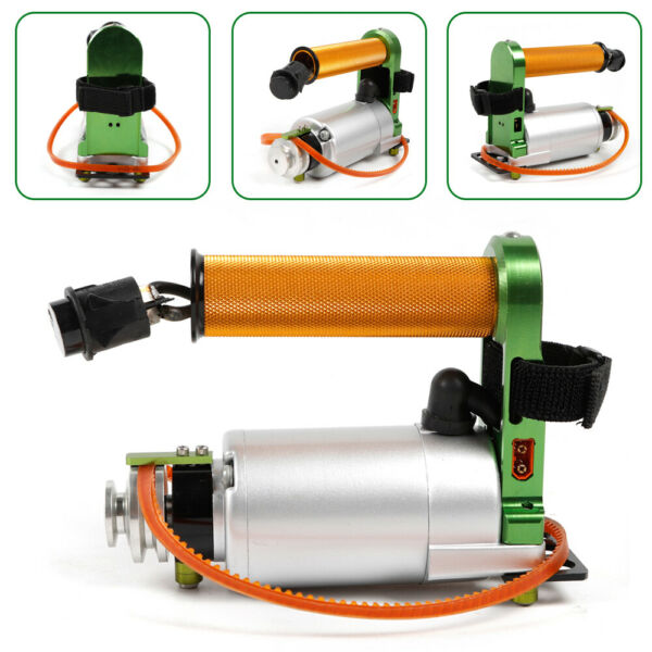 Electric Rotor Handheld Model Starter for RC Gasoline Boat Toys Airplanes $93.07