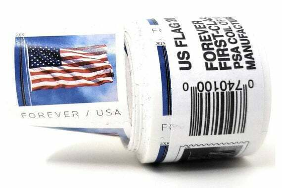 1 coil Brand New Sealed Roll 100 USPS 2019 Forever Postage Stamps $39.99