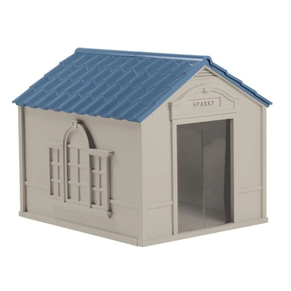 XL DOG HOUSE KENNEL FOR X LARGE 100 LBS Pet Outdoor Heavy Duty Doghouse Shelter $109.63