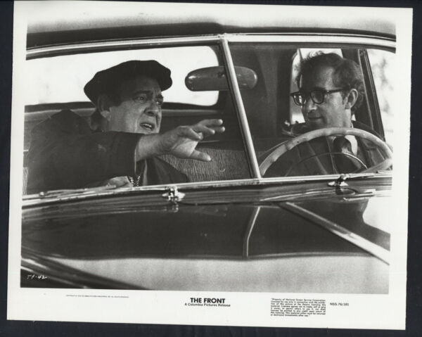 The Front '76 ZERO MOSTEL WOODY ALLEN CAR VERY RARE $16.99