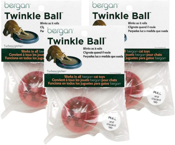 Bergan 3 Pack of Motion Activated LED Twinkle Balls $24.78