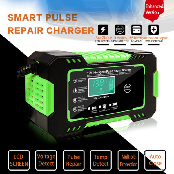 Jump Starter Portable Car Battery Pack 12V 6A Auto Battery Charger Maintainer $28.99