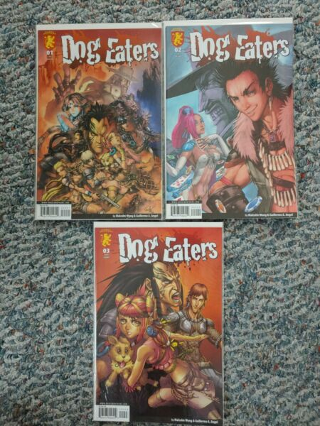 Malcom Wong#x27;s Dog Eaters #1 3 Dabel Brothers $11.99