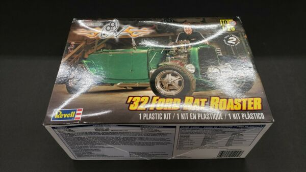 REVELL STACEY DAVIDS 32 FORD RAT ROADSTER NO WHEELS BC
