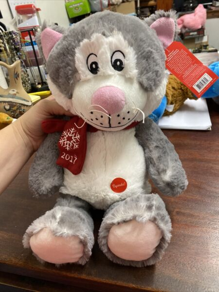 PetSmart LUCKY 2017 Collectible 16quot; Cat Stuffed Plush Toy $15.00