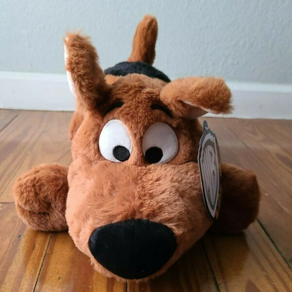 Warner Bros. Scooby Doo Dog 20quot; Collectible Plush Brown Black White $42.00