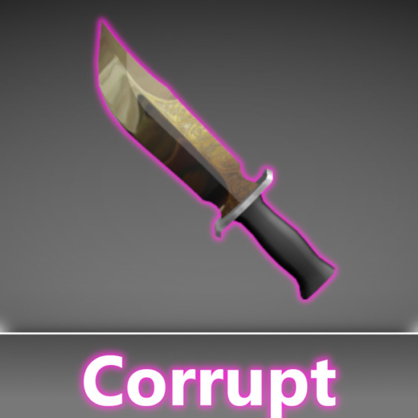 *CHEAP* Roblox Mm2 Corrupt Godly Gun and Knife *FAST DELIVERY* $6.99