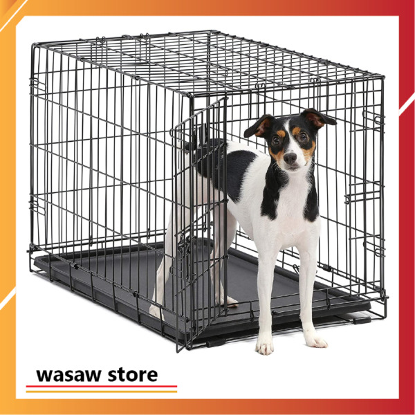 Small Dog Cage Portable Pet House 18 48 Inch Folding Cat Animal Metal Puppy NEW $57.41