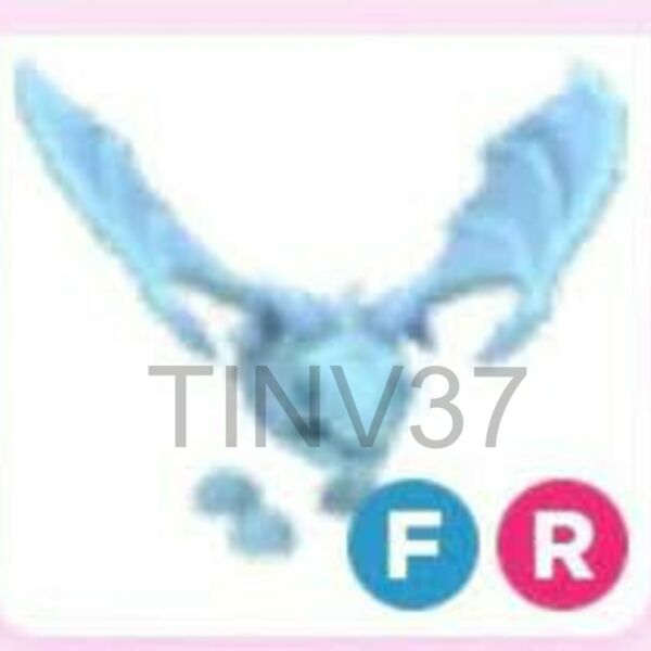 Fly Ride FR Frost Dragon Pet For Adopt Me FAST DELIVERY OUT OF GAME $22.50
