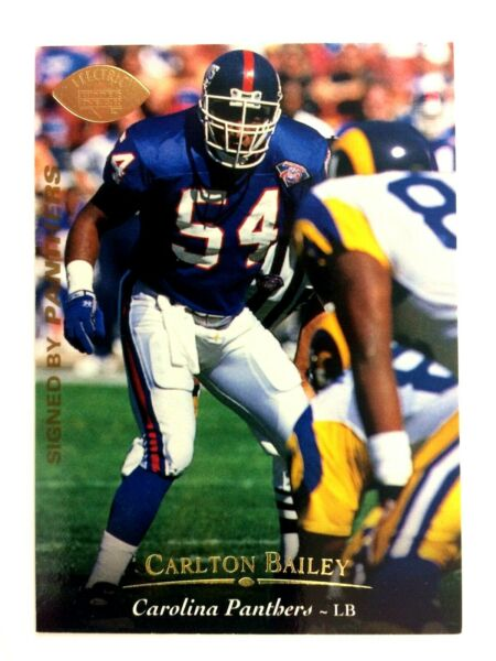 Carlton Bailey 1995 Upper Deck Electric Gold Parallel #294 NFL New York Giants $3.95