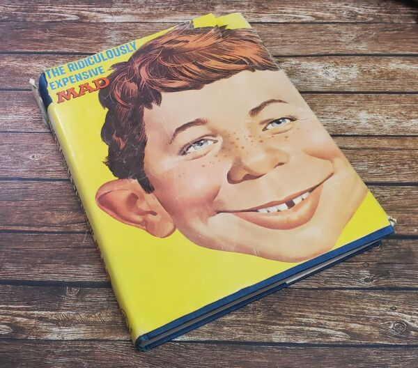 The Ridiculously Expensive MAD Book 1969 Vintage Complete Book With Inserts $199.99