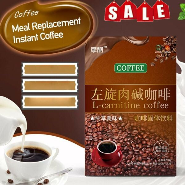 L Carnitine Instant Coffee For Weight Loss Slimming Coffee 1 Box 7 Packs