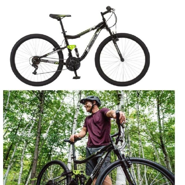 Mongoose Mountain Bike 27.5quot; Wheels 21 SpeedsFront and Rear Linear Pull Brakes $339.99