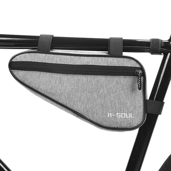 Waterproof Triangle Bicycle Bags Front Tube Frame Bag Mountain Bike Po LB C $8.05