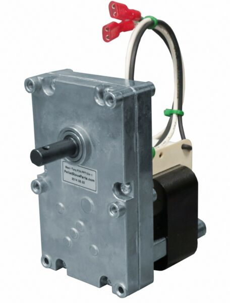 AUGER FEED MOTOR for HARMAN PELLET STOVE [PP7104] 4 RPM CCW - PN 3-20-08752