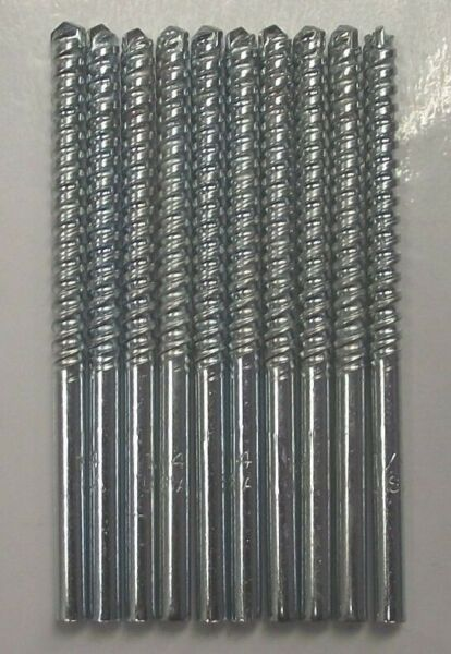 Vermont American 1/4 in. Steel Masonry Drill Bit 9914082 USA 10 Pcs.