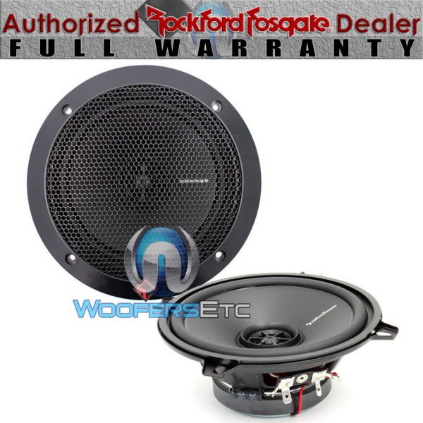 ROCKFORD FOSGATE R1525X2 PUNCH PRIME 5.25quot; COAXIAL 2 WAY WITH TWEETERS SPEAKERS $59.99