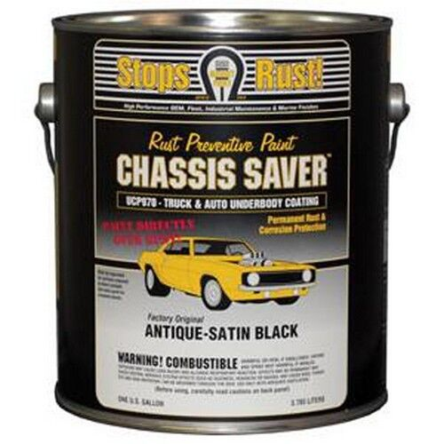 Magnet Paint UCP970-01 Chassis Saver Paint Satin Black 1 Gallon Can