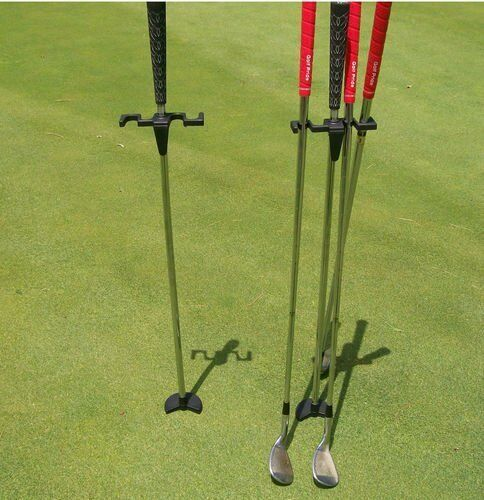 New Golf Butler Buddy Club Dry Grip Stick Irons Putter Holder Stand Caddy Gift