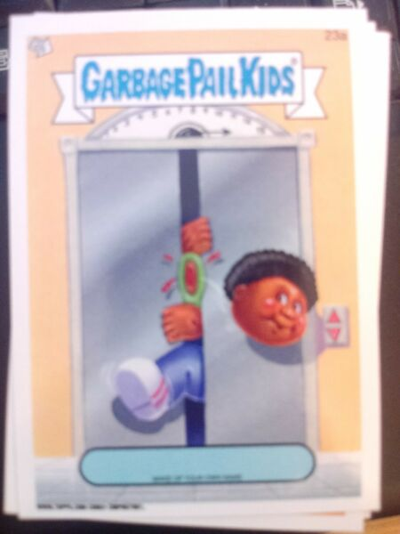 Garbage Pail Kids 2014 Series 1 #23a Make Up Your Own Name Mint