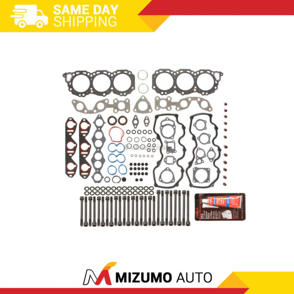 Head Gasket Bolts Set Fit 96-04 Infiniti Nissan Frontier Pathfinder 3.3 VG33E