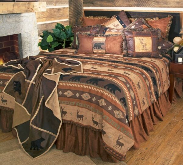 Autumn Trails Bedding Collections - Cabin  Rustic - Free  Shipping + Free Throw
