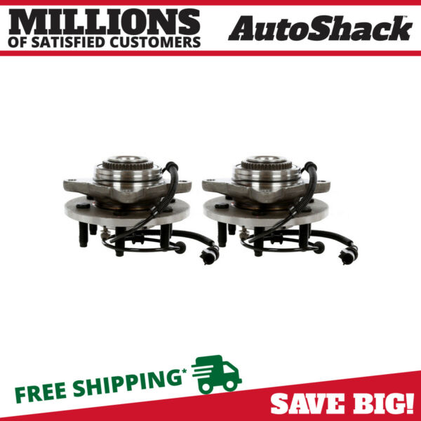 Front Hub Assembly Pair for 2005-2007 2008 Ford F-150 2006-2008 Lincoln Mark LT