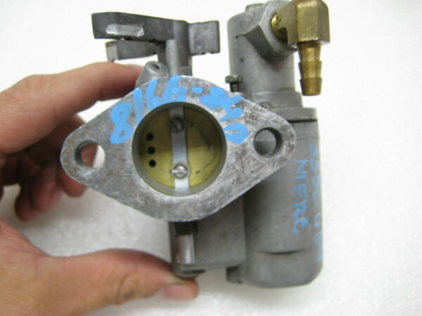 1333 3709 Upper Carburetor Mercury 50hp 4 Cylinder Serial 3350659 $124.97