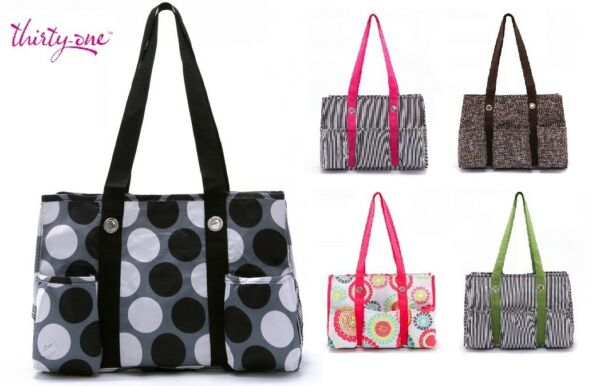 Thirty one Organizing utility tote shoulder bag 31 gift new retired
