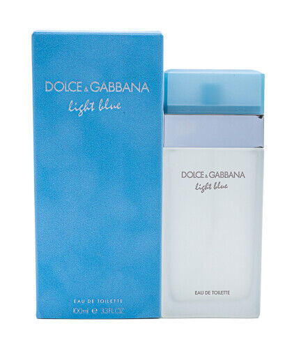 Light Blue by Dolce amp; Gabbana Damp;G 3.3 3.4 oz EDT Perfume for Women New In Box
