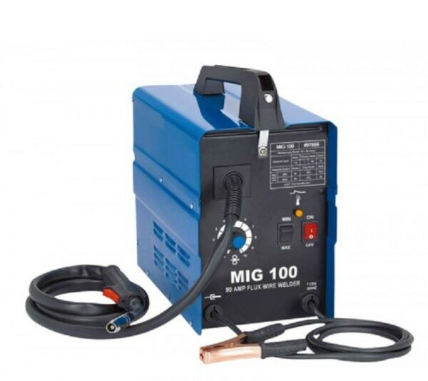 NEW MIG 100 110V 120V Flux Core Wire No Gas Less Welder Welding Machine $0 SHIP