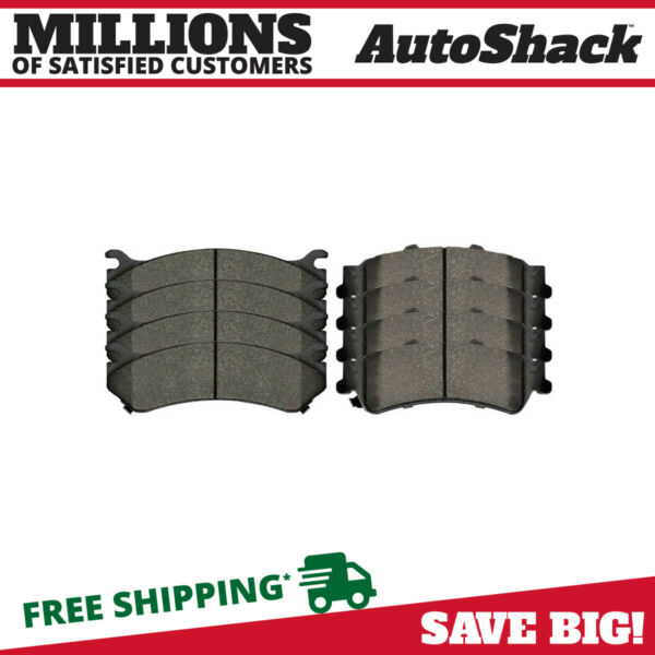 Set of 4 Front and 4 Rear Ceramic Brake Pads 4 Pairs 8 Pads fits Chevrolet Gmc